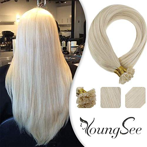 Amazing Offer On Youngsee 14inch Utip Hair Extensions Blonde