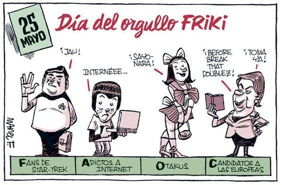 25 de mayo día del orgullo friki