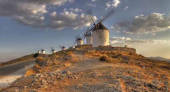 Enlace percmanente de imagen incrustada Consuegra.  Toledo. Foto Fernando Rico.