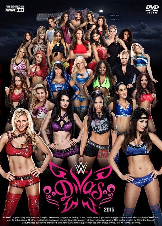 WWE Divas Poster by Chirantha on DeviantArt