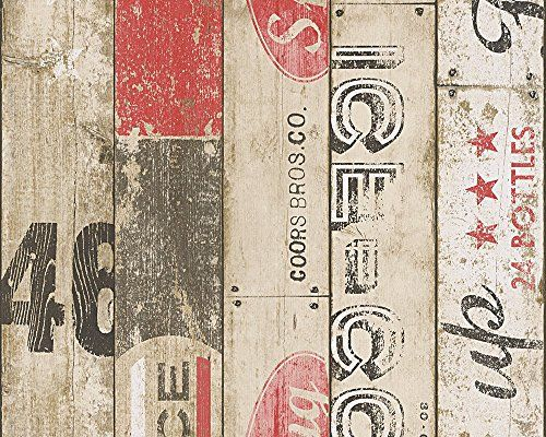 A.S, Création papel pintado para pared estilo americano V…