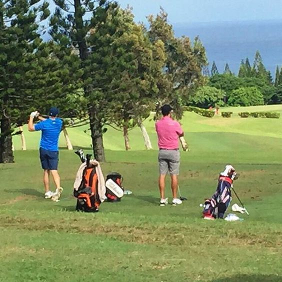 Aloha Jordan!  Less than one week until #HTOC. The professionals are starting to arrive for the Hyundai Tournament of Champions! Pictured here is Jordan Spieth getting some practice in today at the #KapaluaGolf Academy! @hyundaitoc #WhereChampionsCometoPlay