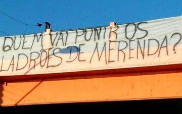 Sob proteção da mídia, máfia da Merendão Tucano segue impune