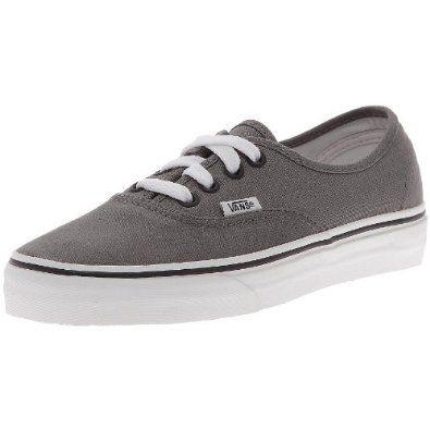 Vans Authentic Unisex Skate Shoes Pewter/Black  Order at http://www.amazon.com/Vans-Authentic-Unisex-Skate-Pewter/dp/B003FZK3WM/ref=zg_bs_679255011_77?tag=bestmacros-20