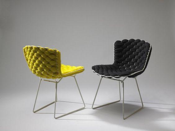 Bertoia Loom Chair Par Clement Brazille Journal Du Design Chaise Deco Meuble Design Chaises Bertoia