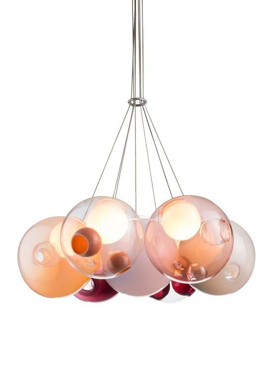 Ara 19 Light Glass Cluster LED Chandelier