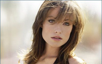Olivia Wilde hair with fringe...I like this!