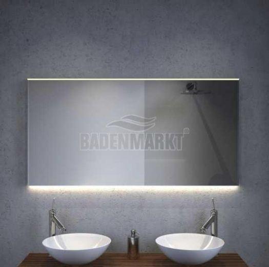 Badkamerspiegel Met Directe Verlichting Bovenin Voor 270 Bij
