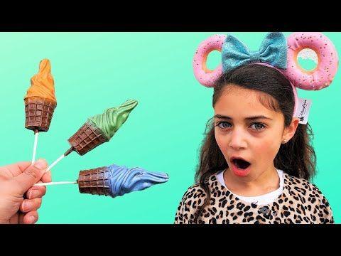Heidi و Zidane يلعب مع الحلويات وألعاب الشوكولاتة الآيس كريم الملونة للأطفال Youtube Henna Designs Easy Vintage Dior Dulhan Mehndi Designs