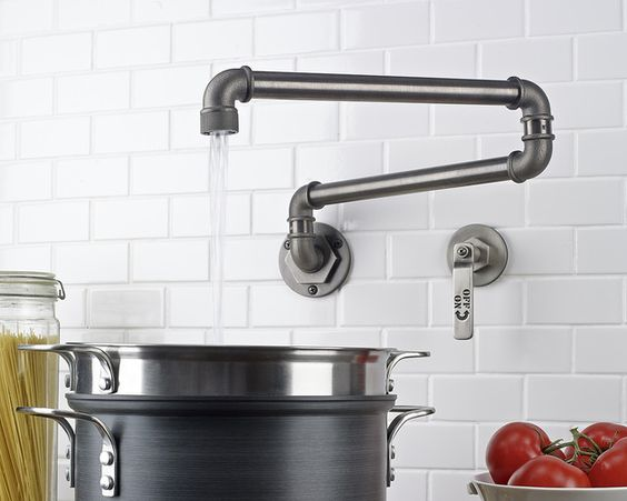 watermark elan vital monoblock // faucet - tap - industrial - steel (another approach!):