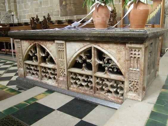 Sir Sampson Meverill tomb