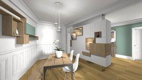 changer d limiter les diff rentes espaces de la pi ce de vie et cr er des rangements home. Black Bedroom Furniture Sets. Home Design Ideas