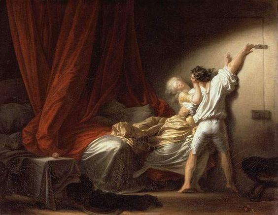 Le verrou, Fragonard