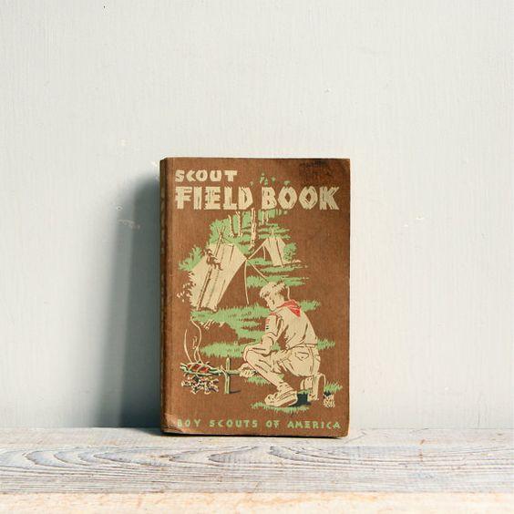 Vintage Boy Scout Field Book / BSA.