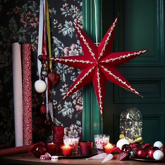 Étoiles déco pour Noël 2016 avec IKEA  http://www.homelisty.com/ikea-noel-2016/