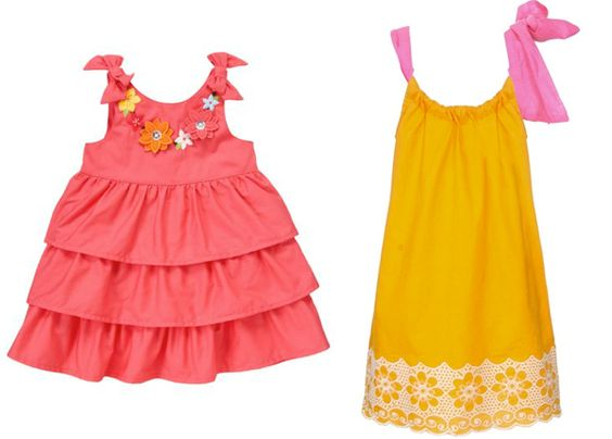 beach-flower-girl-dresses-colorful-tiered