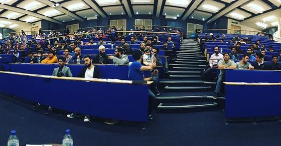 Just after the talk at the University of #Cardiff. Alhumdulillah, it was really nice and heart warming, spending time with the  brothers and sisters. May Allah bless you all, reward you all and may we meet again in the future! Ameen!