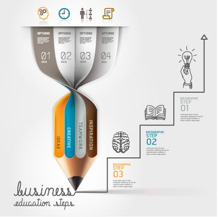 Business Infographic creative design 1140 - Vector Business free ...
