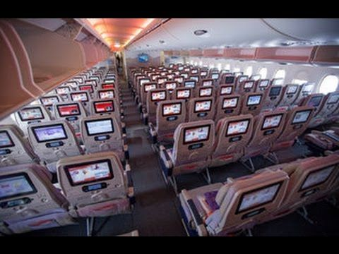 Emirates Airbus A380 Full Tour Economy Business First Review