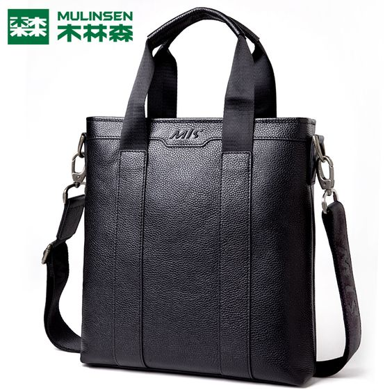 Find More Men's Bags Information about Linsen bag leather handbag business casual men's Shoulder Bag Messenger head layer cowhide bag,High Quality Men's Bags from A+  BAG'S  SHOP on Aliexpress.com