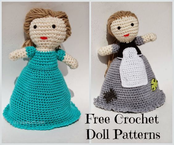 Knitting Pattern For Upside Down Doll : Amigurumi doll, Crochet doll pattern and Free crochet on Pinterest