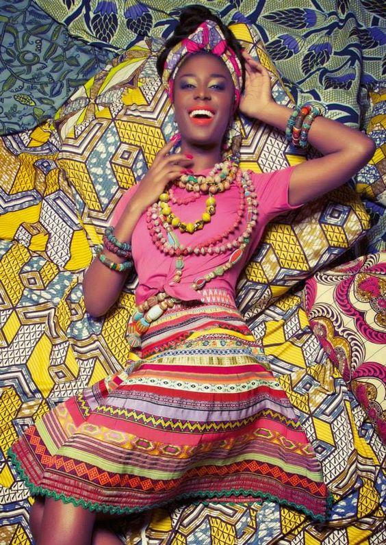 Été 2017 : sous le charme du tissu Africain Wax !