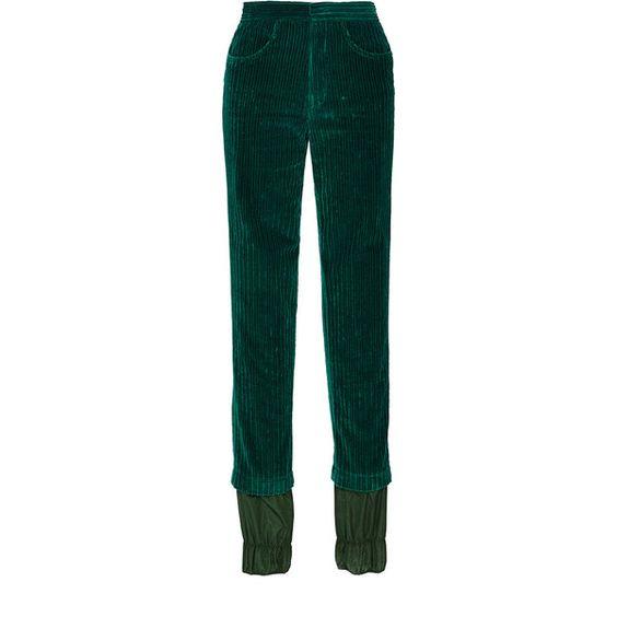 J.W. Anderson Cypress Corduroy Ski Trouser ($725) ❤ liked on ...