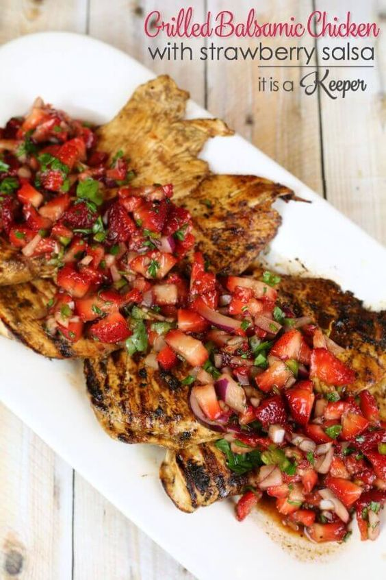 Quick easy grilled chicken recipes