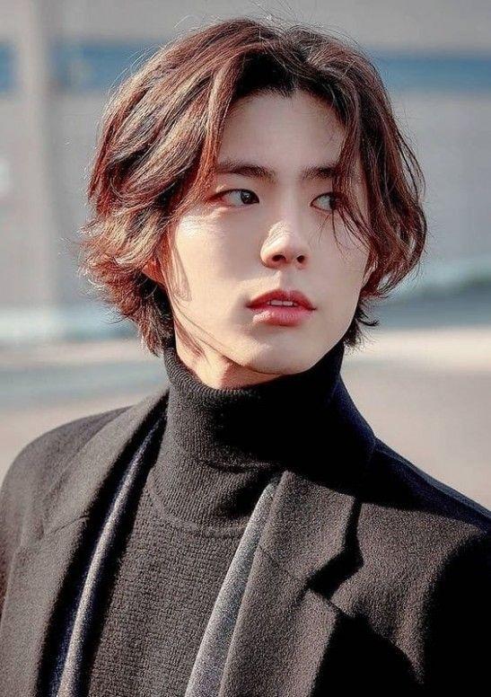 Korean Long Hairstyle Male Handsome Asian Men Long Hair Styles Men Mens Hairstyles