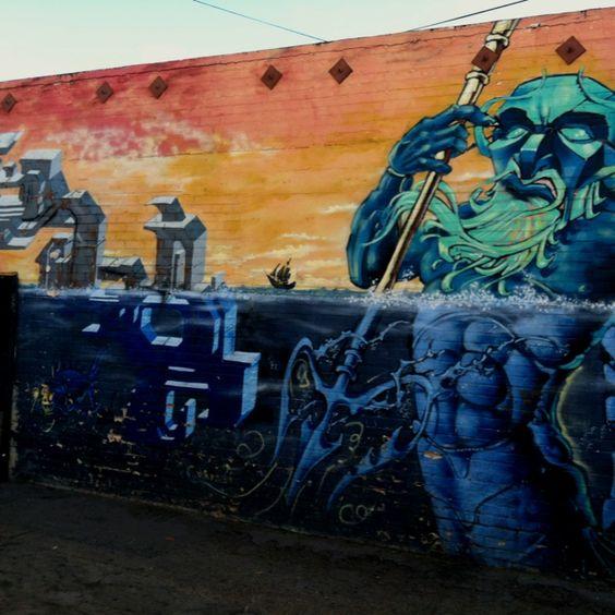 Pixel Pancho Detail San Diego LP Ref Pinterest Street Art - Awesome mechanical shark mural phlegm