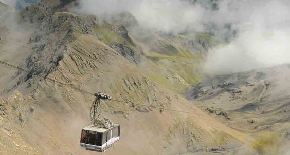 Montaña Schilthorn, Suiza