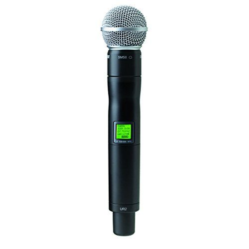 Shure Ur2sm58 H4 Sm58 Handheld Wireless Microphone Transmitter Visit The Image Link More Details This Is An Affiliate Link Microphone Music Mic Handheld