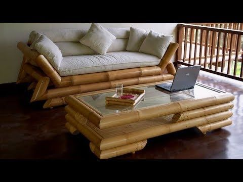Bamboo Furniture Beds Sofas Tables Eco Design Part 2