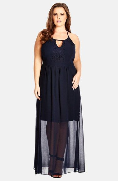 nordstrom plus size maxi dress