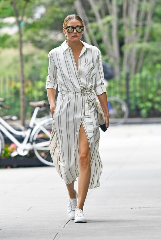 Olivia Palermo Wore the Sneakers Taking Over NYC | WhoWhatWear