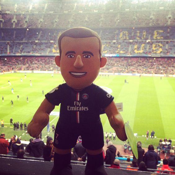 Poupluche Lucas au Camp Nou
