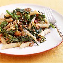 Pâtes à la bolognaise et brocolis