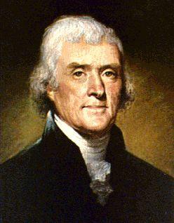 Thomas Jefferson was handsome