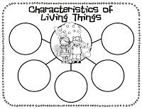 Freebie: Characteristics of Living Things | Projects to Try ...
