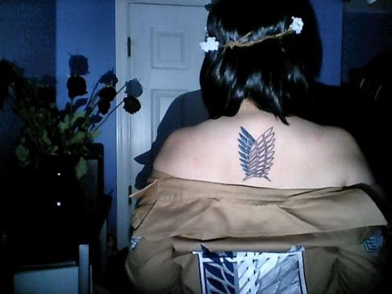 Pinterest the world s catalog of ideas for Attack on titan tattoo