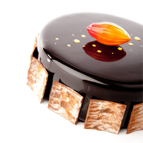 The 39 chocolat 39 entremet my bff chocolate pinterest for Decoration entremet