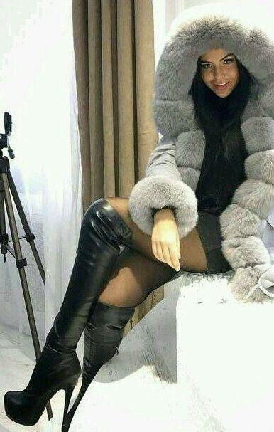 Stiefel beine overknee dicke relanddegu: Overknees