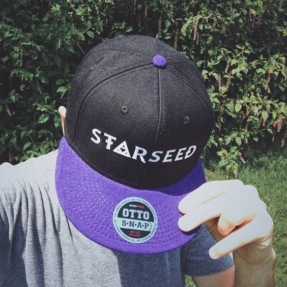 STARSEED Snapback Hat Metaphysical Head Ornament Premium