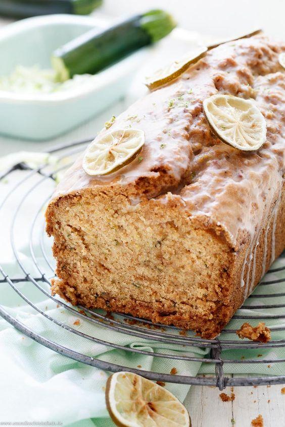Zucchini Kuchen Mit Mandeln Und Limette Rezept Zucchini Kuchen Lebensmittel Essen Und Kaffee Und Kuchen