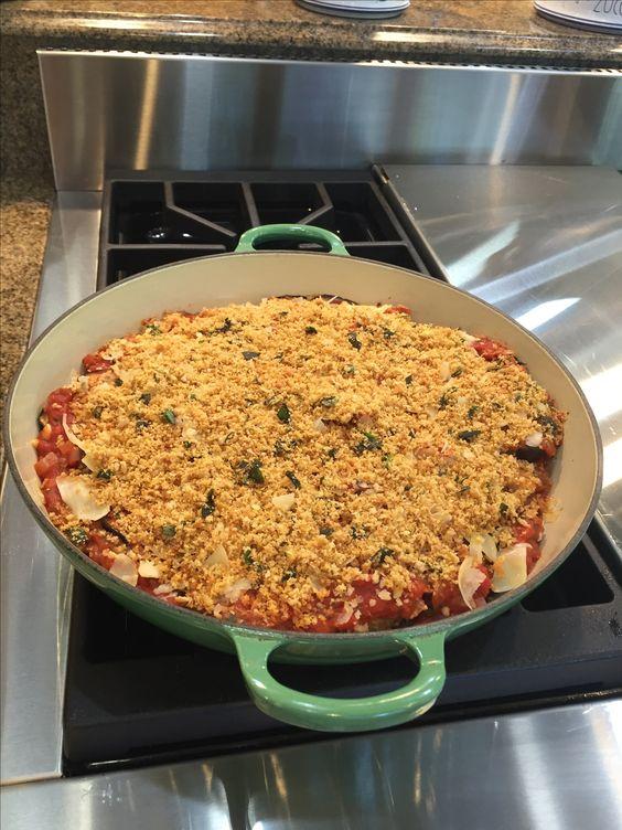 Jamie Oliver's Eggplant Parmesan #NYTCooking