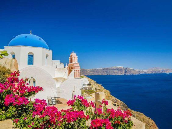 Santorini, Grécia –