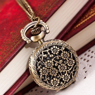 Vintage Retro Pendant Fob Pocket Watch