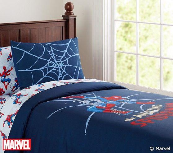 Spider Man Duvet Cover Pottery Barn Kids
