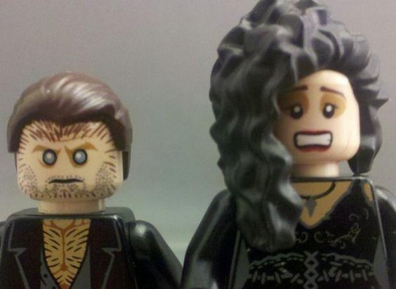 Fenrir Greyback & Bellatrix Lestrange