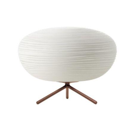 Lámpara de mesa Foscarini RITUALS FLUO 2 blanca #iluminacion #decoracion #interiorismo
